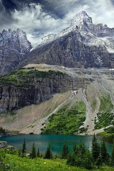 Beautiful Montana Alpine Lake