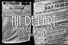 Nit de l´Art 2015. Palma de Mallorca. Fotografías y Video por: Héctor Falagán De Cabo | hfilms & photography. http://www.Facebook.com/MallorcaFotoCultura http://www.Facebook.com/FalaganDeCabo