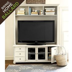Vetrina Media 60 inch Console with Hutch orrrrr maybe this...I love this