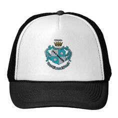 ZTA Crest Color Hats Black Trucker Hat e783fcbf7e67