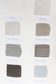 Limewash Colors. Crushed Limestone made into a putty paste and then watered down back into a 'paint' for walls. Lime has a naturally high pH level which means microorganisms can't survive. Also said to remove harmful odors, and improve air quality. Cool Ideas, Crushed Limestone, Lime Paint, White Wash Brick, Black Brick, Decor Inspiration, Decor Ideas, Tadelakt, Colores Paredes