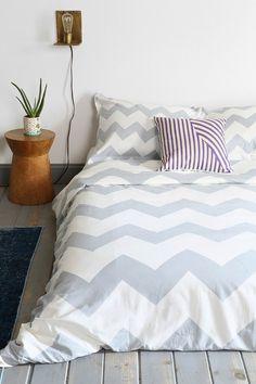 Zigzag Duvet Cover - diff colors avail