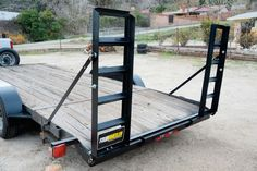 Easily Add Convenient Loading Ramps To Your Trailer