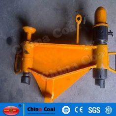 chinacoal03 Railway Use Portable Hydraulic Rail Bender Machine Hydraulic Rail Bender also called hydraulic bend machine, is rail installation maintenance when a special tool to bend the rail operations. This machine is dedicated to the mining slope laid railroad lines meet gallery level elevation changes at the scene of the track-laying below 30 kg/m that is for light rail to implement vertical bending or adjustment.