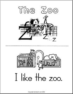 abcteach.com has lots of resources! This is a free early reader that's perfect for my class since we're going to the zoo in May.