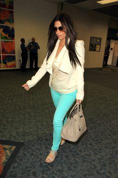 KIM KARDASHIAN at Miami Airport