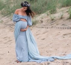 66 Ideas baby bump reveal blue for 2019 Maternity Gowns, Maternity Fashion, Maternity Wedding, Summer Maternity, Maternity Shoots, Pregnancy Looks, Pregnancy Photos, Pregnant Wedding Dress, Baby Shower Gifts For Boys