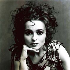 Helena Bonham Carter. Some of you may know her as Tim Burton's gal (which only adds to her awesome) but I admire her mysterious quality, dark beauty, and acting talent. It amazes me how she can play such dark roles.