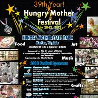 Hungry Mother Arts And Crafts Festival