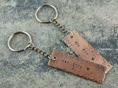 One Love Keychain by Miedzianka - Breloki do kluczy