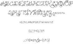 Janda Swirlygirl font by Kimberly Geswein - FontSpace