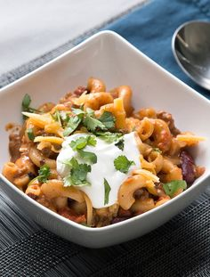 "Chili Mac 'N' Cheese | This Chili Mac 'N' Cheese Dinner Will Have You Saying, ""Ooh, Yes!"""