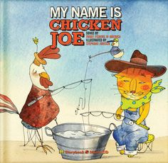Book-CD, 'My Name is Chicken Joe' is the first installment in the Chicken Joe series. All songs are written and performed by TFIA. Illustrations are by Stéphane Jorisch. Chicken Song, Kindergarten Music, Story Poems, Find A Book, All Songs, Elementary Music, Music Classroom, Trout Fishing, My Name Is
