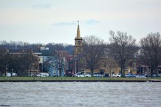Burlington, NJ; That's one of the oldest churches in America in the center, the original St. Mary's.