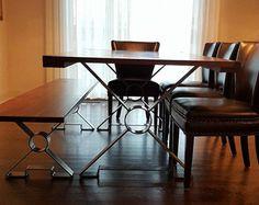 15 OR 18 X shaped Steel table legs metal table door MooseheadMetals