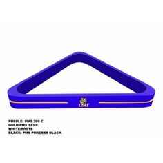 Louisiana State LSU Tigers NCAA Billiard/Pool Ball Triangle Rack