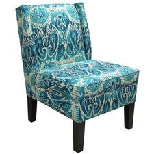 Alessandra Wingback Slipper Chair