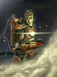 Steampunk Iron Man by *taylorweaved on deviantART | via 亗 Dr. Emporio Efikz 亗