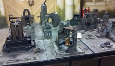 Forged at a Painting Desk: Back from trip. Warhammer world and 1318 LARP