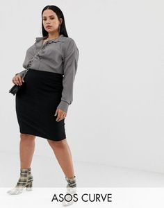5c01793657cd Jersey Pencil Skirt | Bottoms For Her | Pencil skirt black, Skirts ...