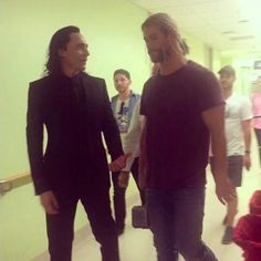 Brothers at the hospital