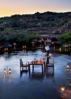 Bushmans Kloof   South Africa   Safari   Romantic Dinner   Luxury Travel   Destination Deluxe