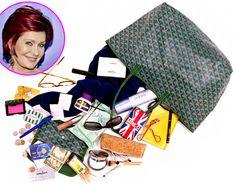 92a64cdd3f Sharon Osbourne  What s in My Bag