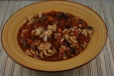 A Year of Slow Cooking: CrockPot Pasta Fagioli Recipe. ***The Verdict*** This is SO easy and SO good! Tastes just like the Olive Garden version. Yummmm.