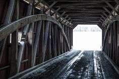 4. Drive under at least one covered bridge.