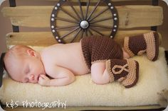 crochet cowboy boots shoes diaper