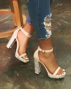 Heels – Page 2 – LaModishBoutique Dr Shoes, Cute Shoes Heels, Fancy Shoes, Hype Shoes, Pretty Shoes, Heels Outfits, Mode Outfits, Frauen In High Heels, Business Casual Shoes