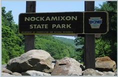 5268 acre Nockamixon State Park is the largest park in Bucks County. The park encompasses Lake Nockamixon, the reservoir created by the damming of Tohickon Creek in the 1960s. Nestled in a valley, the park is surrounded by the wooded hills of upper Bucks County. Adjacent to a large tract of state game land, including Haycock Mountain, there is a lot to offer the outdoors man.
