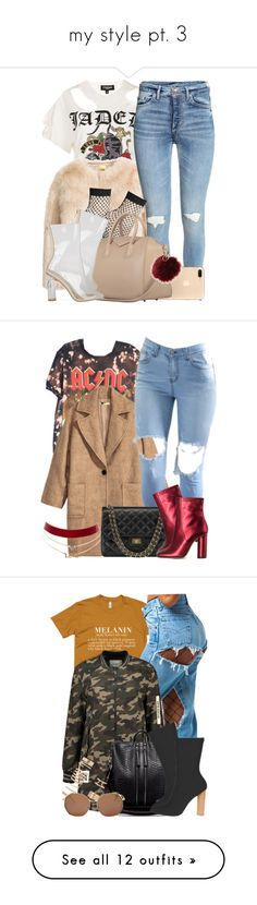 """""""my style pt. 3"""" by mysquadtoowavy ❤ liked on Polyvore featuring Topshop, Charlotte Russe, H&M, Jill Stuart, Forever 21, ASOS, NIKE, WithChic, Givenchy and BERRICLE"""