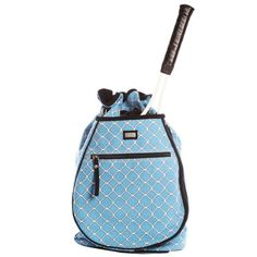 Ame & Lulu Villa Tennis Backpack - http://www.closeoutracquets.com/tennis-and-racquetball-bags/tennis-bags/ame-lulu-villa-tennis-backpack/