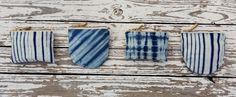 Monederos de algodón orgánico teñido a mano con tintes naturales *** Organic cotton purses hand-dyed with natural dyes #SlowTextileConcept