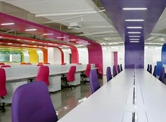 colorful office interior design ideas
