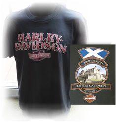 Harley Davidson T Shirt Edinburgh Scotland Mens Size Large #HarleyDavidson…