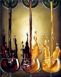 A brilliant cascade of smoldering temptation dances it's way towards a tasty evening