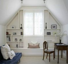 Great idea for our bonus room above the garage because of the sloped ceiling! Description from pinterest.com. I searched for this on bing.com/images