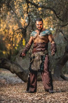 Khal Drené Cosplay as Khal Drogo Kenneth Pfeifer Photography
