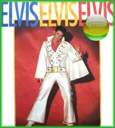 Simplicity 8651 Officially Licensed ELVIS Costume Patterns