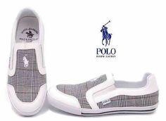 Ralph Lauren Mens Polo Casual Shoes White