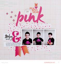 Real Boys Wear Pink by Kelly Noel at @Studio_Calico - 12x12 layout #SCbluegrassfarm