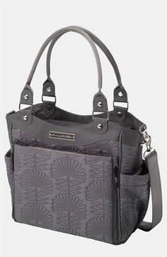 Infant Petunia Pickle Bottom 'City Carryall' Diaper Bag - Black