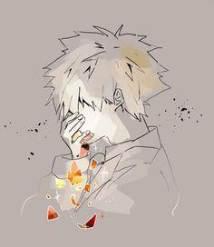 My Hero Academia - Bakugou Katsuki My Hero Academia Shouto, Hero Academia Characters, Anime Characters, Comic Anime, Anime Art, Spirit Fanfics, Vent Art, Villain Deku, Fanart