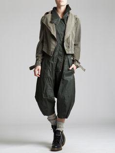 Resin Cotton Lycra Jumpsuit by LURDES BERGADA