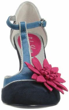 ce7dd930e0c7 Ruby Shoo Womens Candice Court Shoes 08327 Navy 4 UK