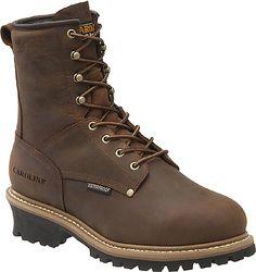 John Deere Mens 11 Pull On Steel Toe Metatarsal Guard Work Boot D, M JD4973