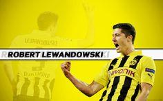 Football Player Robert Lewandowski Backgrounds - http://www.wallpapersoccer.com/football-player-robert-lewandowski-backgrounds.html