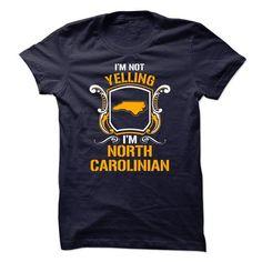 Im not yelling Im North Carolinian - #checked shirt #sweater weather. ADD TO CART => https://www.sunfrog.com/LifeStyle/Im-not-yelling-Im-North-Carolinian.html?68278
